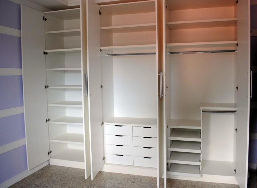 Produção Artesanal Ou Artesanato ~ Armários para quarto de casal Decorando Casas