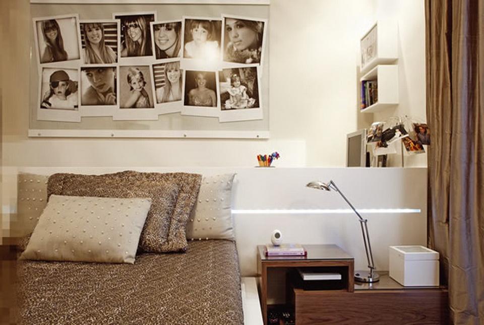 Dicas decoração para quarto feminino adulto Decorando Casas