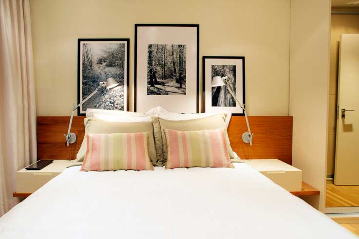 dicas de quadros para quarto de casal decorando casas