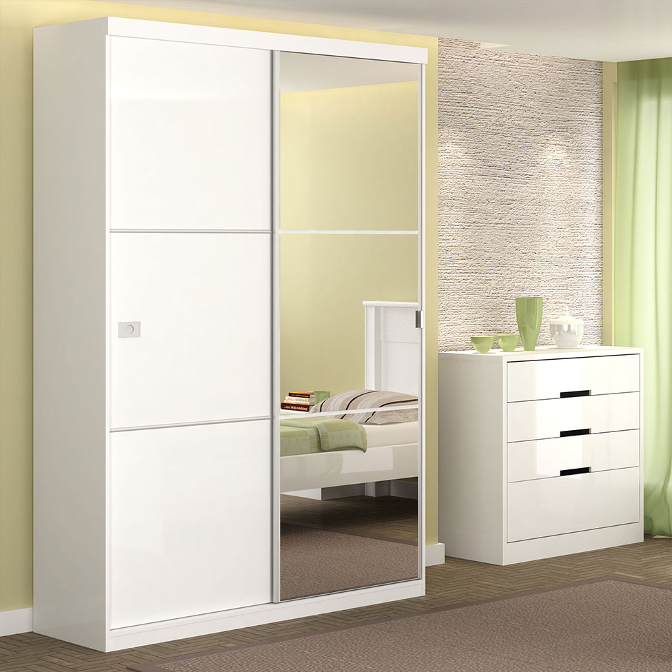 Modelos de guarda roupas para quarto pequeno de solteiro  Decorando Casas -> Armario Para Banheiro Pequeno Casas Bahia