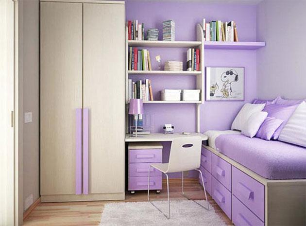 Modelos de guarda roupas para quarto pequeno de solteiro  ~ Quarto Pequeno Jovem