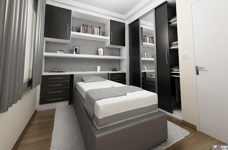 Guarda Roupa Solteiro Quarto Pequeno ~ Modelos de guarda roupas para quarto pequeno de solteiro  Decorando