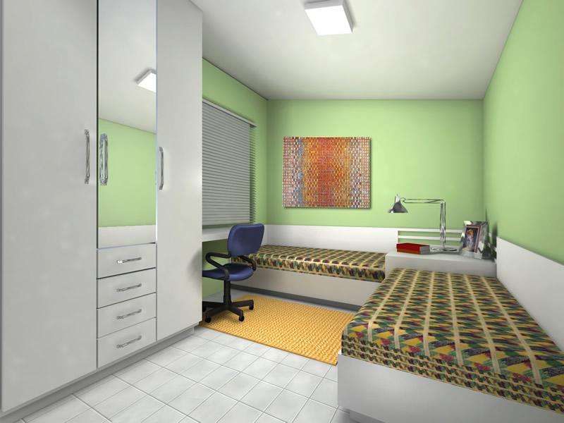 Iluminação para quarto de solteiro Decorando Casas ~ Quarto Solteiro Masculino Planejado