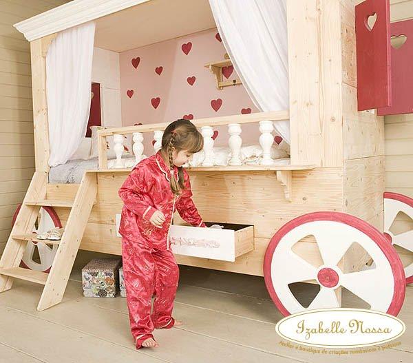 Modelos de camas para quarto de meninas decorando casas for Habitaciones infantiles baratas