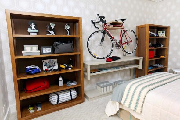 Dicas de estantes para quarto de solteiro Decorando Casas ~ Quarto Rustico Masculino