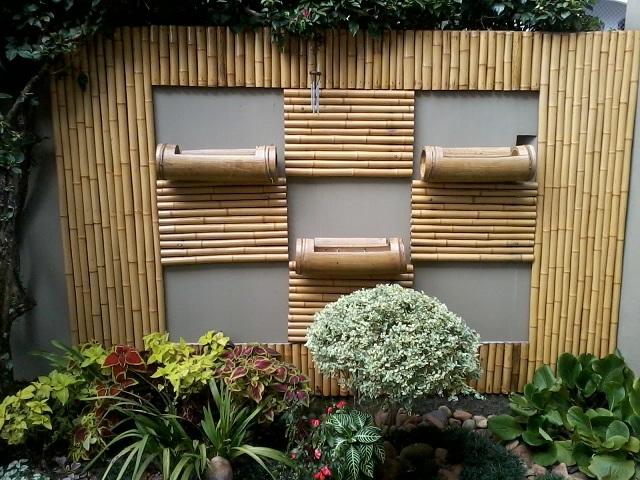 Dicas de paisagismo e jardinagem com bambu decorando casas - Wanddeko bambus ...