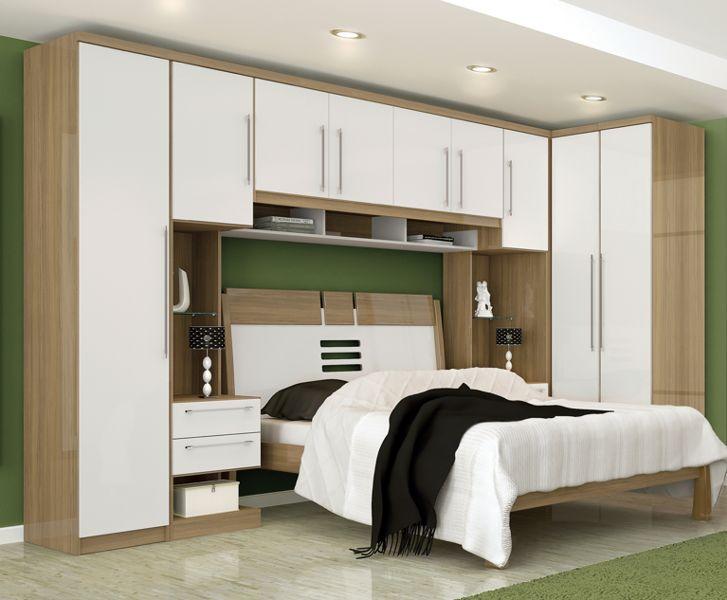 Móveis planejados quarto de casal Decorando Casas ~ Quarto Planejado Solteiro Rj