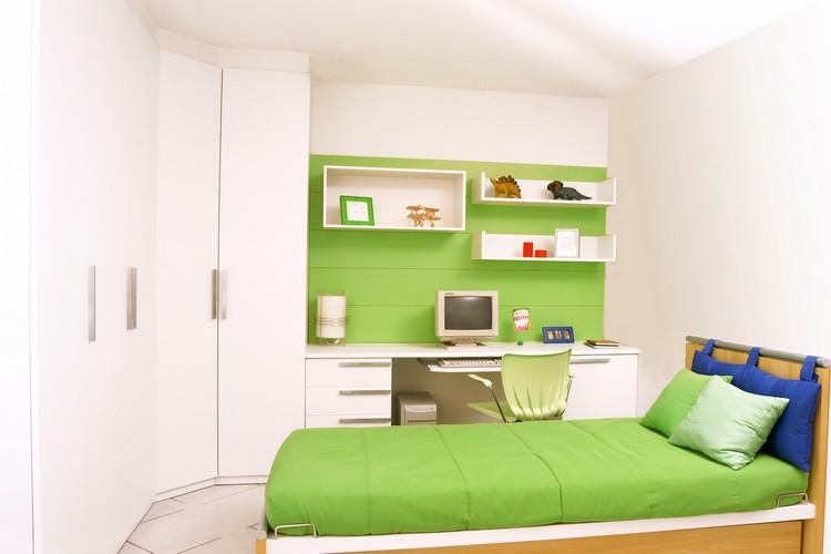 Armario Para Escritorio Com Gavetas ~ Móveis planejados quarto de solteiro Decorando Casas