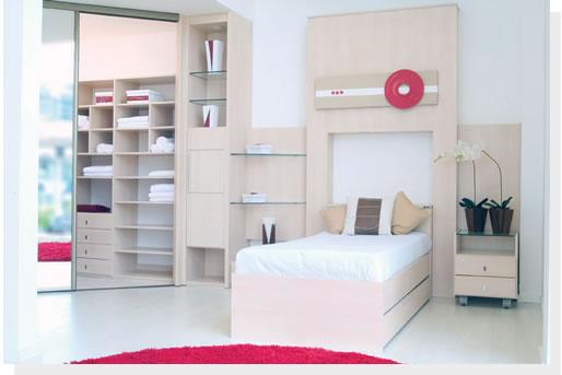 Móveis planejados quarto de solteiro Decorando Casas ~ Quarto Verde Solteiro