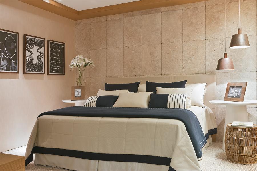 Revestimentos de parede de quarto com piso de cer mica for Ceramica para revestir paredes