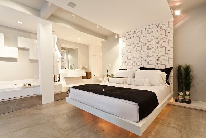 Revestimento Parede Interna Quarto ~ Revestimentos de parede de quarto com piso de cer?mica  Decorando