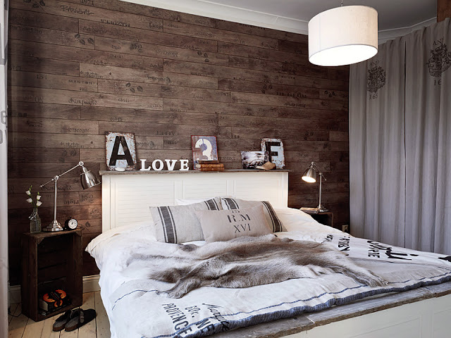 revestimentos de parede de quarto com piso de cer mica decorando casas. Black Bedroom Furniture Sets. Home Design Ideas