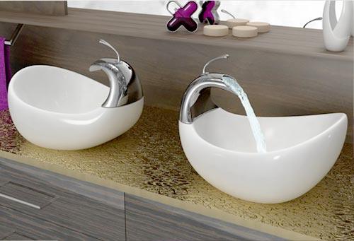 Modelos de pias para banheiro  Metalferco -> Pia De Banheiro Incepa