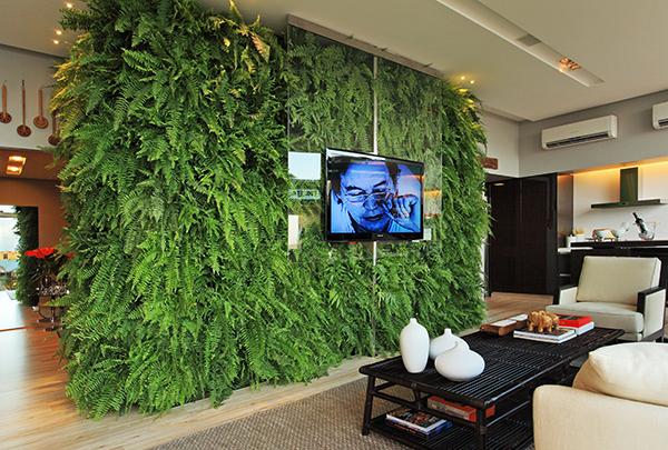 fotos jardim horizontal : fotos jardim horizontal:Fotos de plantas artificiais para decoração de casas