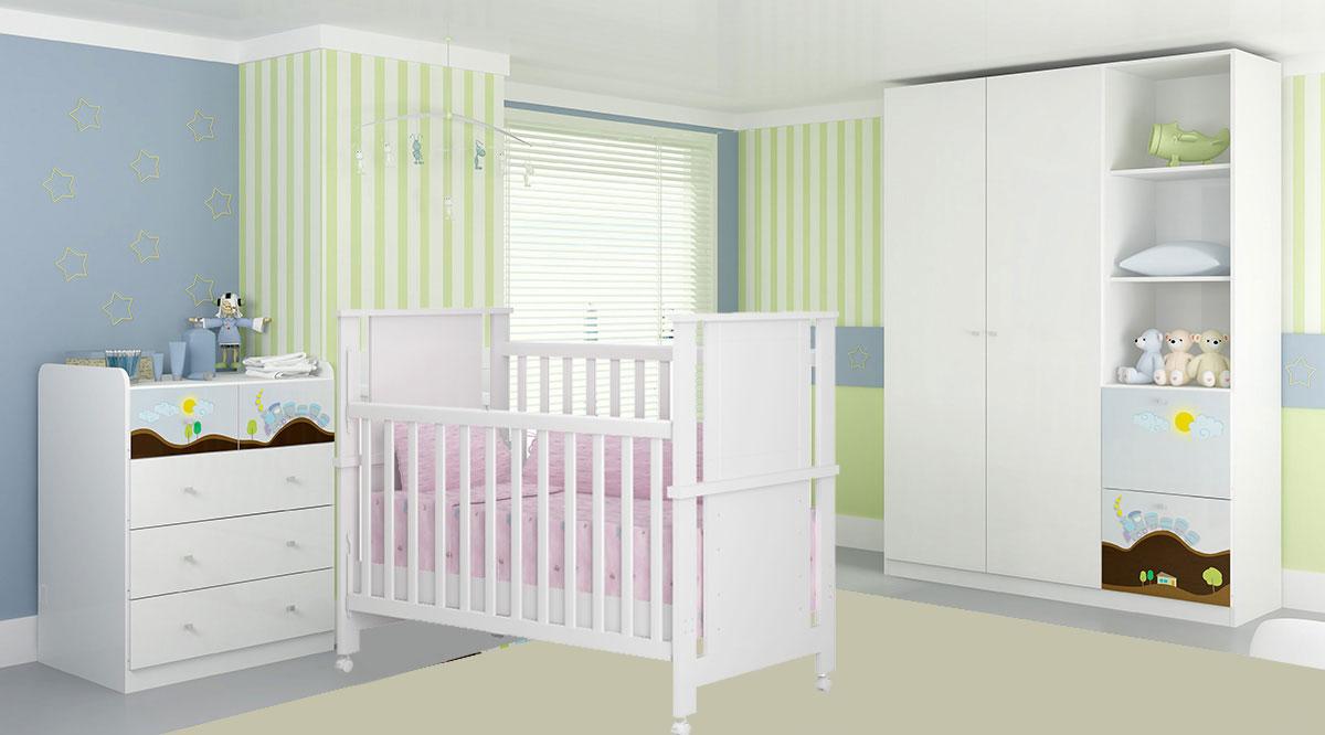 Modelos De Guarda Roupas Para Quarto Pequeno De Bebe Decorando Casas ~ Decoração De Quarto De Bebe Pequeno