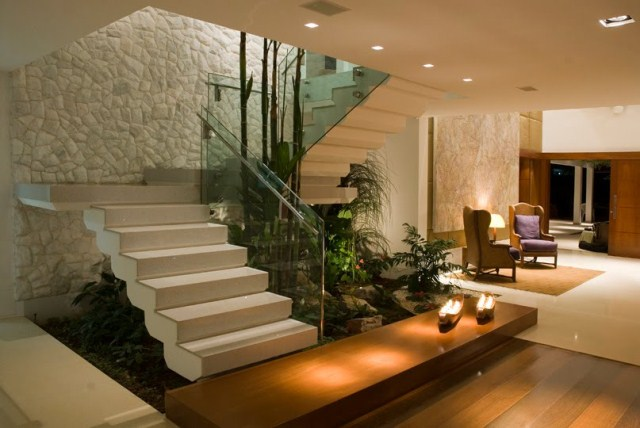 deck jardim endereco : deck jardim endereco:Dicas de jardim de inverno embaixo da escada