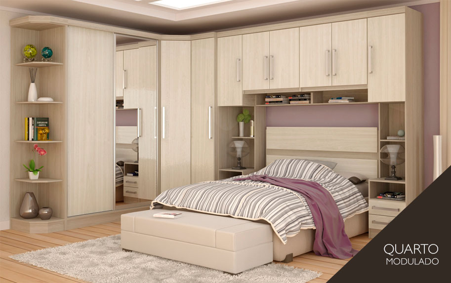 Modelos guarda roupas quarto pequeno casal Decorando Casas ~ Quarto Planejado Pequeno Casal