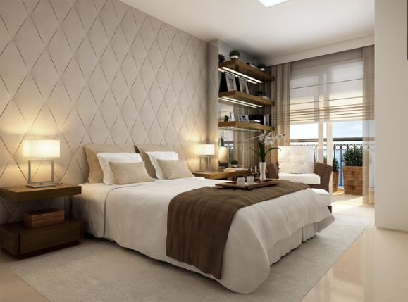 Pisos porcelanato para quartos  Decorando Casas