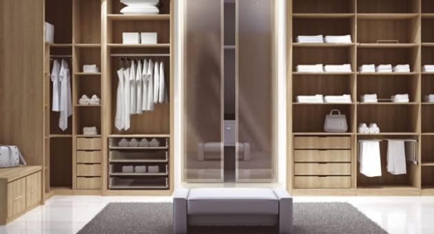 Projetos de closet com banheiro  Decorando Casas -> Projetos De Banheiro Com Banheira E Closet