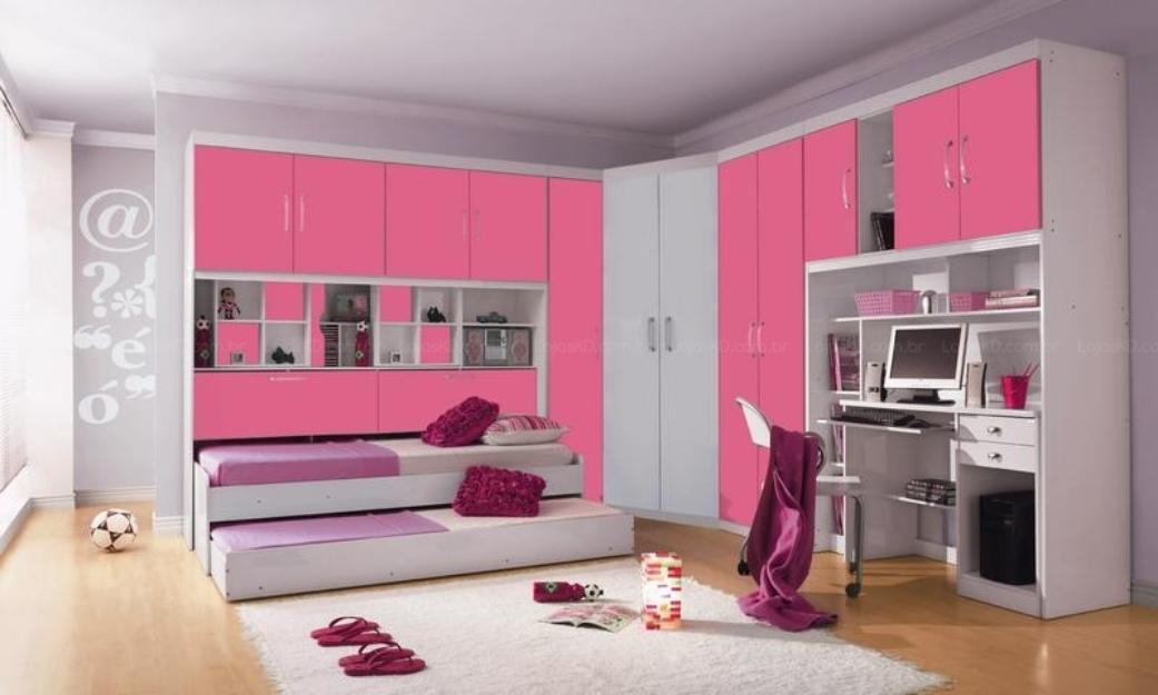Projetos de quartos para meninas Decorando Casas
