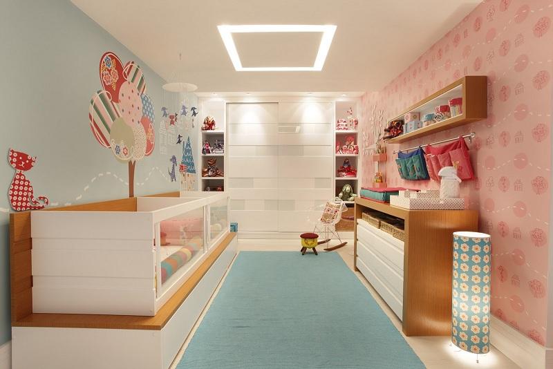 Projetos de quartos para meninas decorando casas for Decoracion de cuarto para ninas gemelas