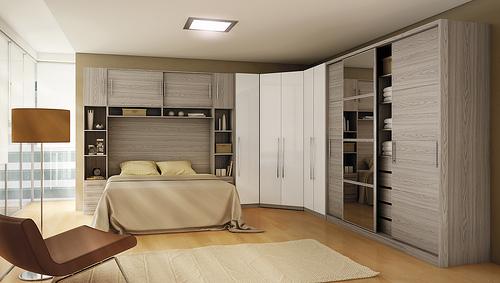Modelos guarda roupas quarto pequeno casal Decorando Casas ~ Quarto Planejado Pequeno Casal Com Closet