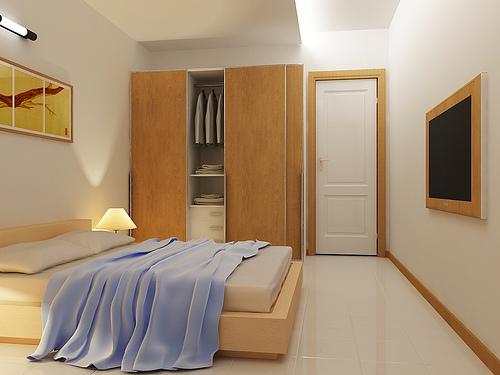 Armários para quarto pequeno Decorando Casas ~ Quarto Pequeno Simples