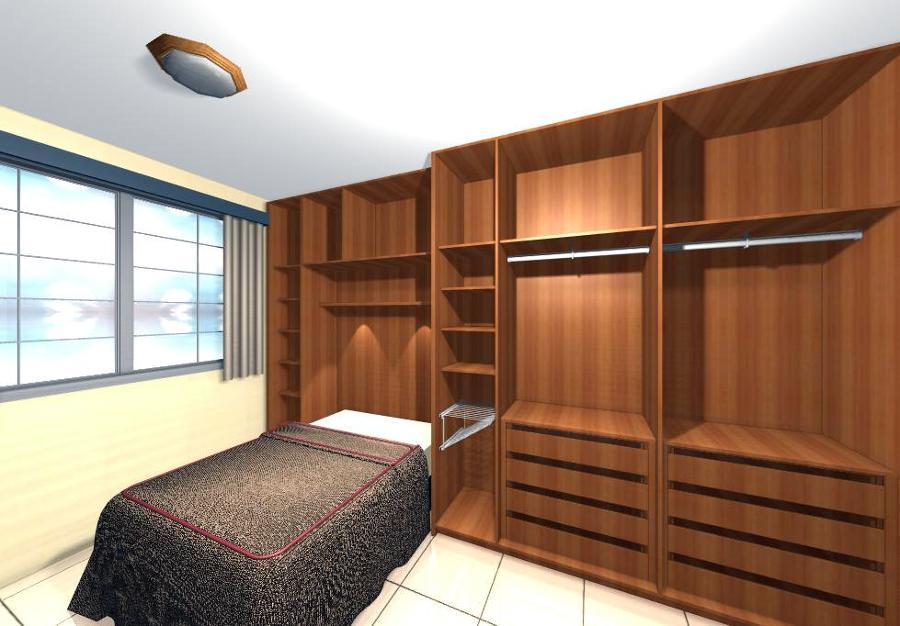 Produção Artesanal Ou Artesanato ~ Armários para quartos planejados Decorando Casas