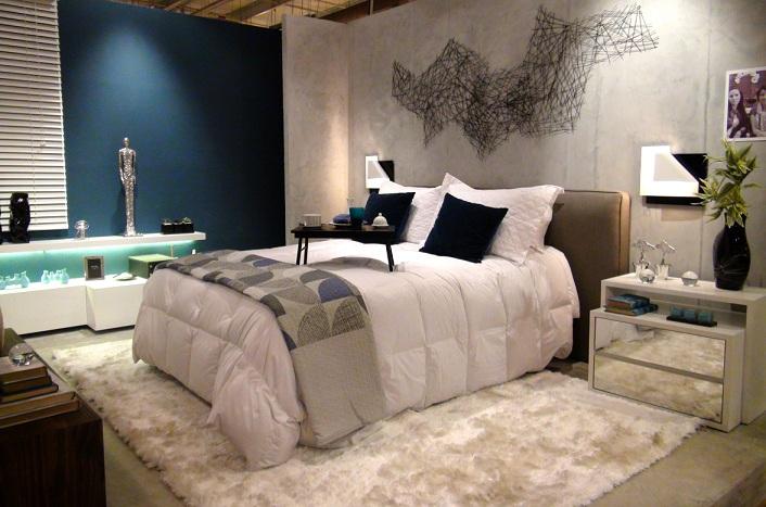 Fotos de tapetes para quarto de casal Decorando Casas
