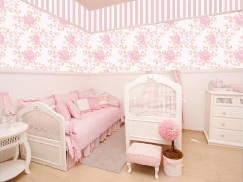 Dicas de papel de parede para quarto de bebê  Decorando Casas