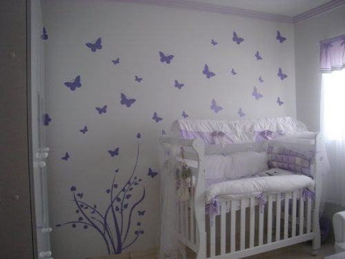 Quarto Bebe Masculino Papel Parede ~ Dicas de papel de parede para quarto de beb?  Decorando Casas