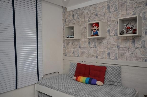 Revestimento Parede Interna Quarto ~ Revestimento de parede para quarto infantil  Decorando Casas