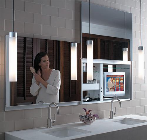Artesanato Com Eva Flores ~ Armários com espelhos para banheiros Decorando Casas