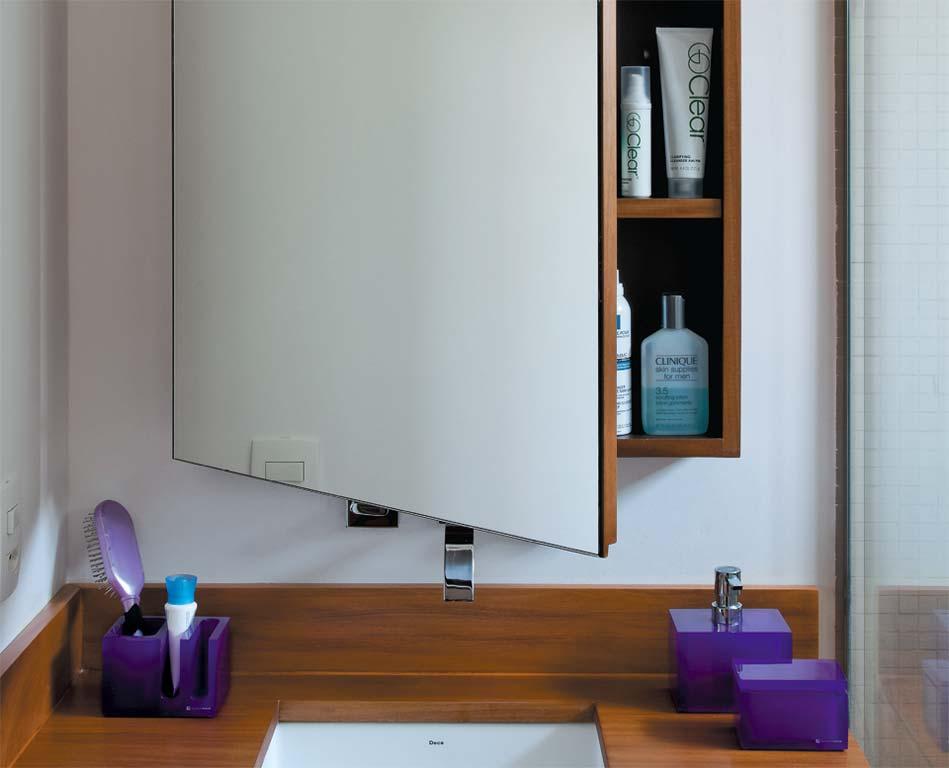 Armários com espelhos para banheiros  Decorando Casas -> Armario De Banheiro Com Espelho Inox