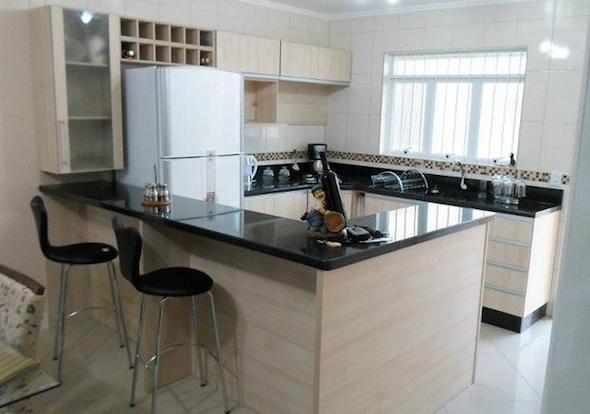 Cozinhas planejadas pequenas com janela  Decorando Casas # Armarios Para Cozinha Planejada Pequena