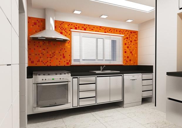 Another Image For cozinhas planejadas na cor amarela
