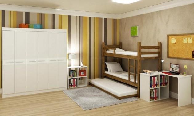 Decoração de quartos bonitos para jovens Decorando Casas ~ Quarto Pequeno Juvenil