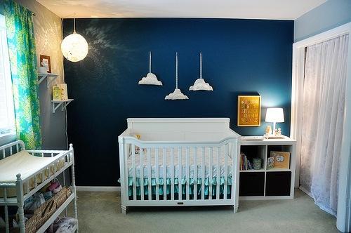 Dicas para cor de parede em quarto masculino Decorando Casas ~ Cores De Parede Para Quarto De Bebe Masculino