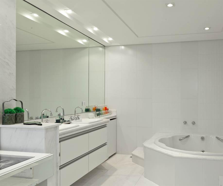 Dicas de teto de gesso para banheiro  Decorando Casas -> Decoracao De Gesso Para Banheiro Pequeno