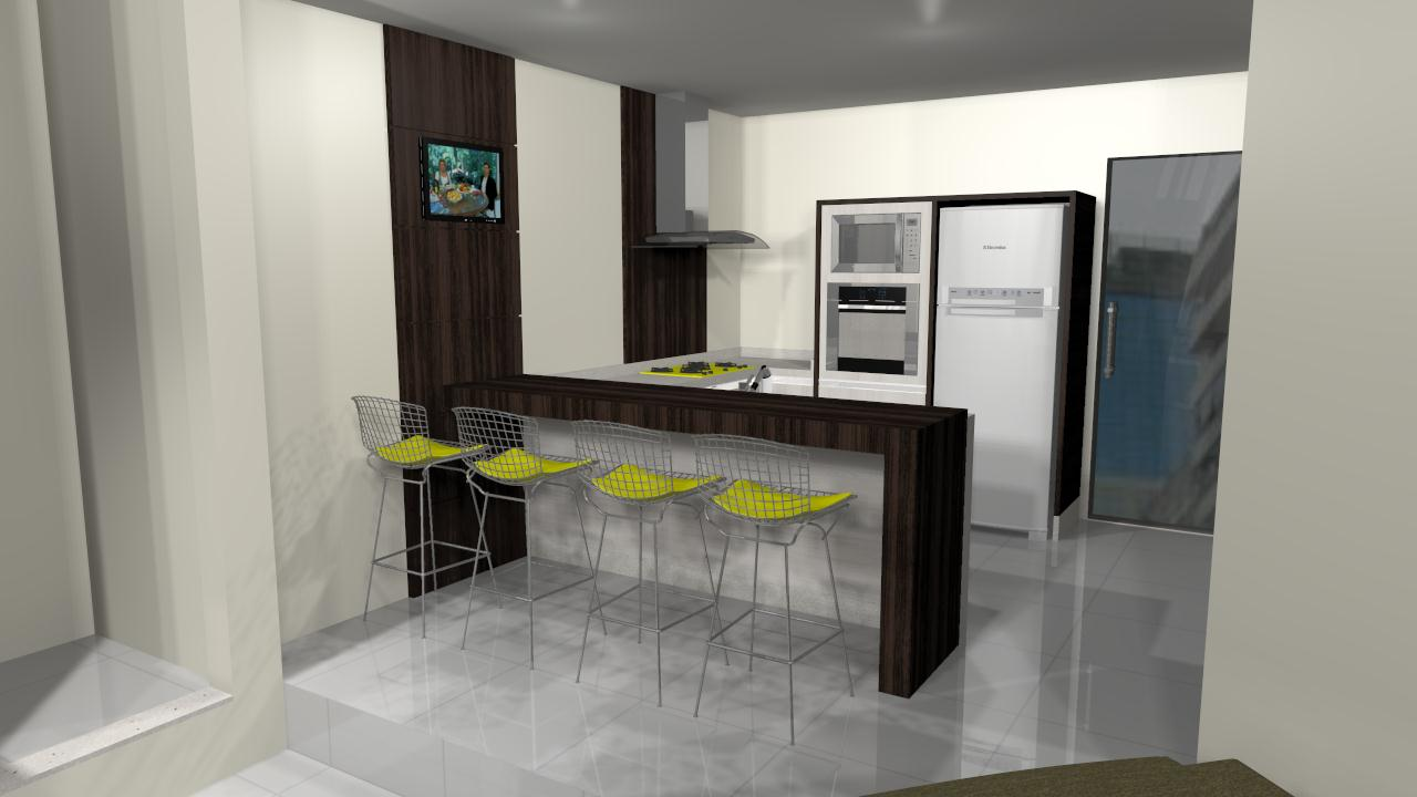 Modelos De Bancadas Para Cozinhas Planejadas Decorando Casas ~ Modelos De Cozinha Com Balcão