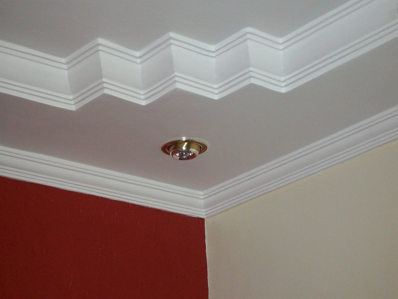 Modelos de molduras de gesso para teto Decorando Casas #601710 1600 1200