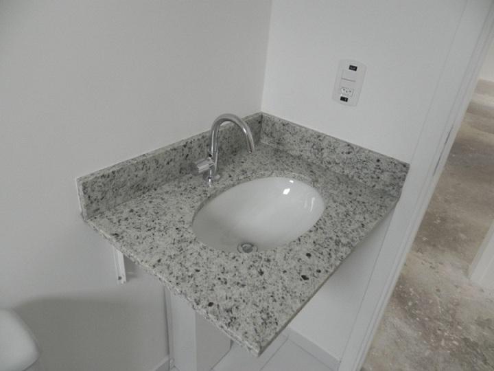 Modelos de pias em granito para banheiro  Decorando Casas -> Pia De Banheiro Em Granito