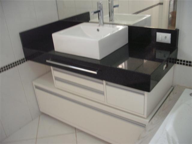 Modelos de pias em granito para banheiro  Decorando Casas -> Pia Para Banheiro Moderno