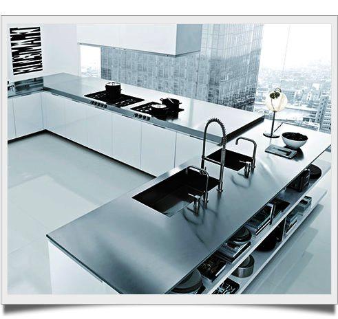 Pias de cozinha modernas