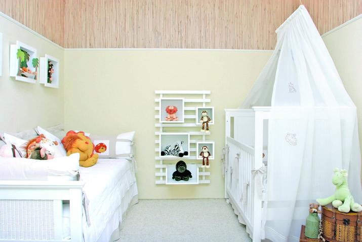 Revestimento de parede para quarto de bebê Decorando Casas ~ Revestimento Para Meia Parede De Quarto