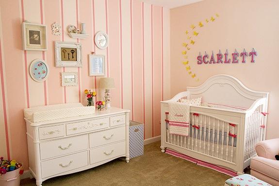 Revestimento Parede Quarto Infantil ~ Revestimento de parede para quarto de beb?  Decorando Casas