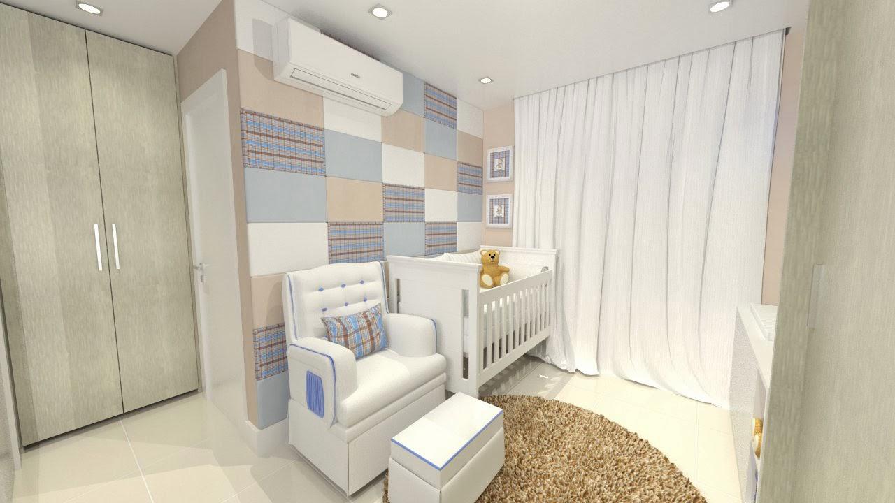 decoracao quarto bebe pequenos ambientes:Revestimento de parede para quarto de bebê