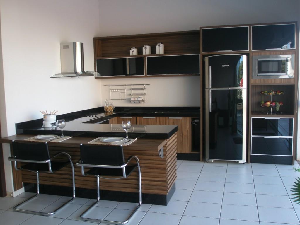 Fotos de cozinhas planejadas pequenas MundodasTribos Holiday and  #466485 1024 768