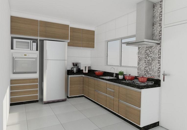 Dicas de cozinhas planejadas pequenas decorando casas - Armarios para casas pequenas ...