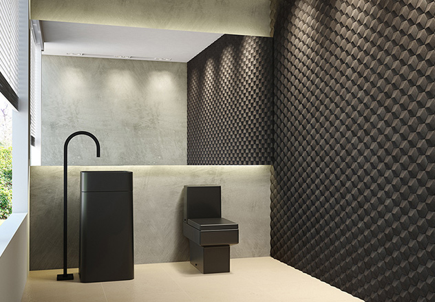 fotos de revestimentos modernos para banheiro Car Tuning -> Banheiro Decorado Com Revestimento Eliane